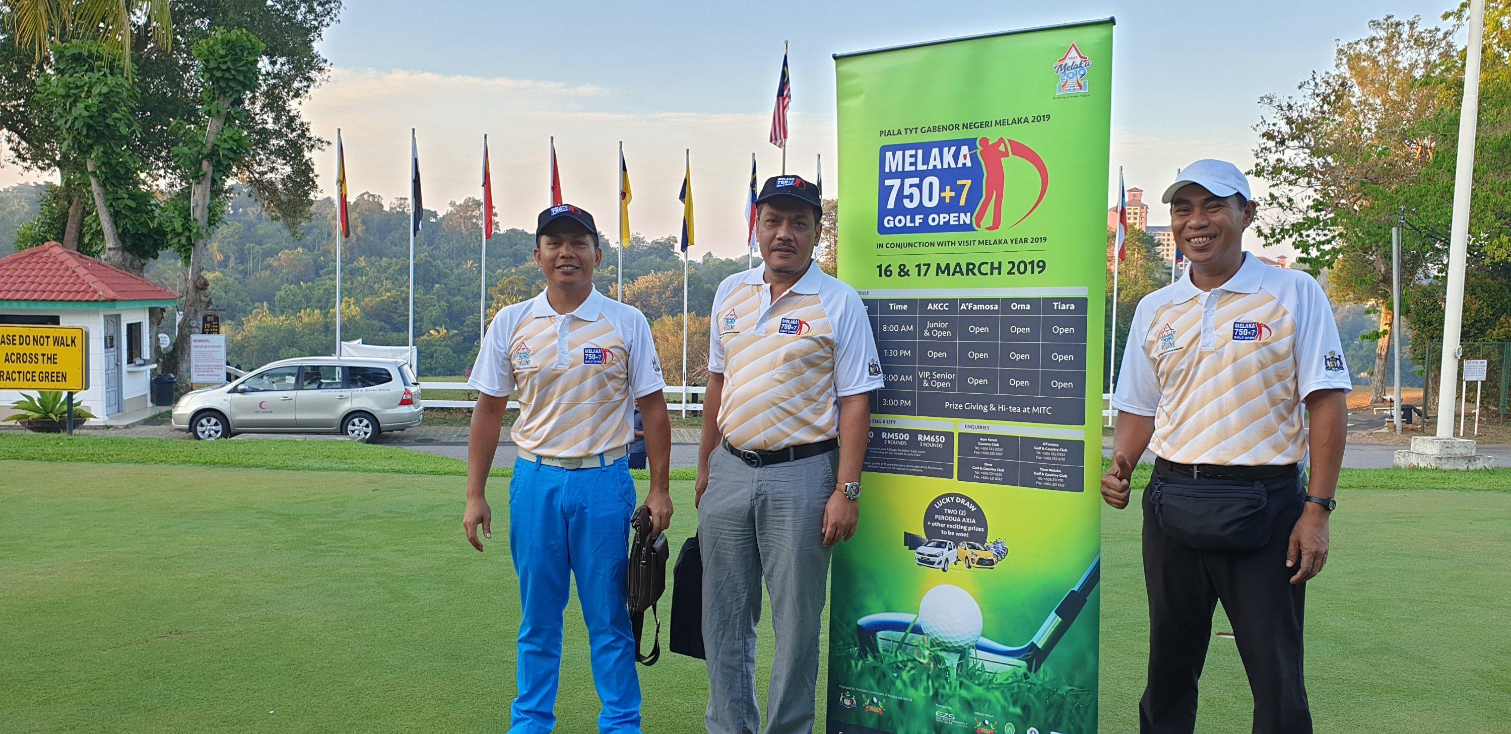 Melaka 750+7 Golf Open 2019 Part 1