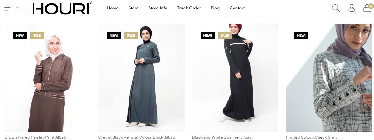 Houri – koleksi Muslimah kontemporari dikuasakan teknologi awan